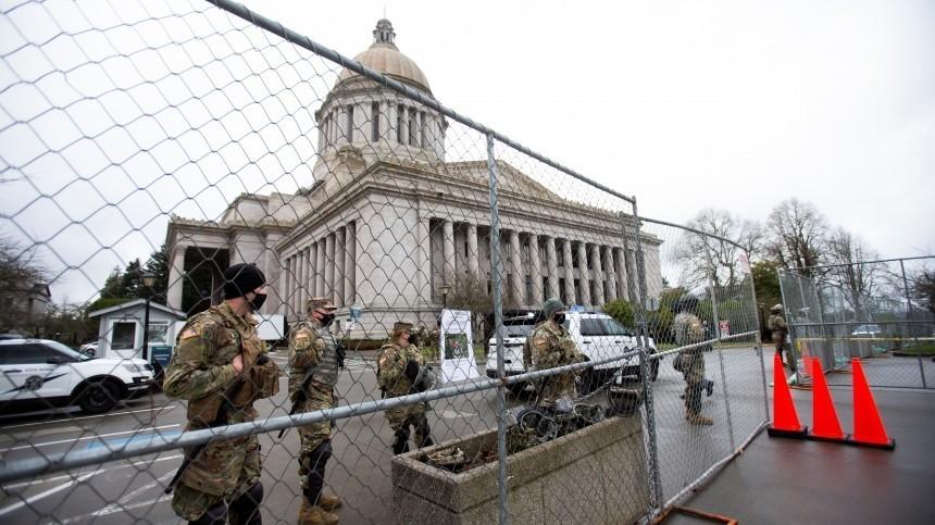 Капитолий США заблокирован из-за внешней угрозы безопасности— Reuters