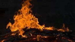 Пожар, напугавший США: эксклюзивное видео сместа возгорания уКапитолия