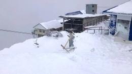 Четырех человек, пропавших после схода лавины вКЧР, нашли живыми— хроника последних событий