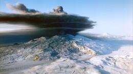 Вместо снега— пепел: Вулкан Ключевской произвел парогазовый выброс наКамчатке