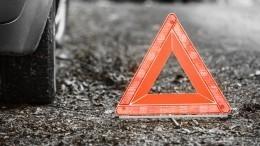 Три человека погибли вДТП смикроавтобусом вПодмосковье— видео