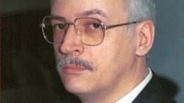 Названа причина смерти бывшего ведущего программы «Время» Игоря Выхухолева