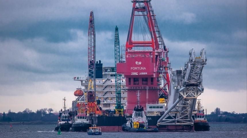 Власти США ввели санкции против трубоукладчика «Северного потока— 2»