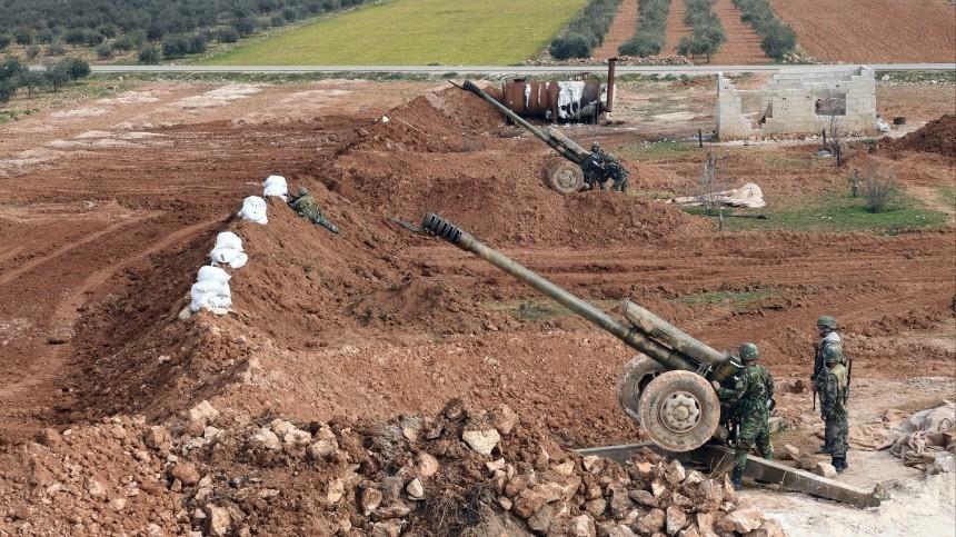Российские военные отрабатывают тактику ведения боя вСирии