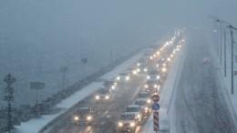 Мощный снегопад ожидается вМоскве вближайшее время