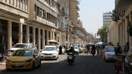 Первые кадры сместа взрыва вцентре Багдада