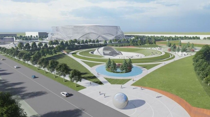 Как будет выглядеть новая СКА Арена вПетербурге— видео