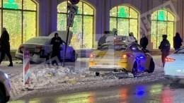 Момент наезда авто наактрису Лилию Мачулко вМоскве попал навидео