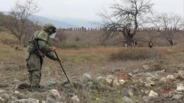 Российские спасатели наращивают группировку вНагорном Карабахе