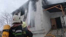 Три человека задержаны поподозрению ввозникновении пожара вдоме престарелых вХарькове