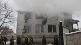 Трех человек задержали после пожара с15 погибшими вХарькове