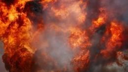 Видео момента взрыва газа нарынке вКраснодаре, где один человек погиб