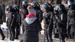 Нанесанкционированную акцию вПриморье вышли до500 человек