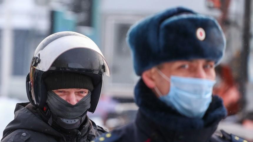 СКначал проверку пофактам нападений наполицейских наакциях вМоскве