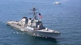 Черноморский флот начал слежку заэсминцем США, зашедшим вЧерное море