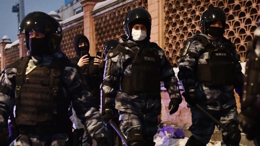Все подростки, задержанные нанесогласованной акции вМоскве, отпущены