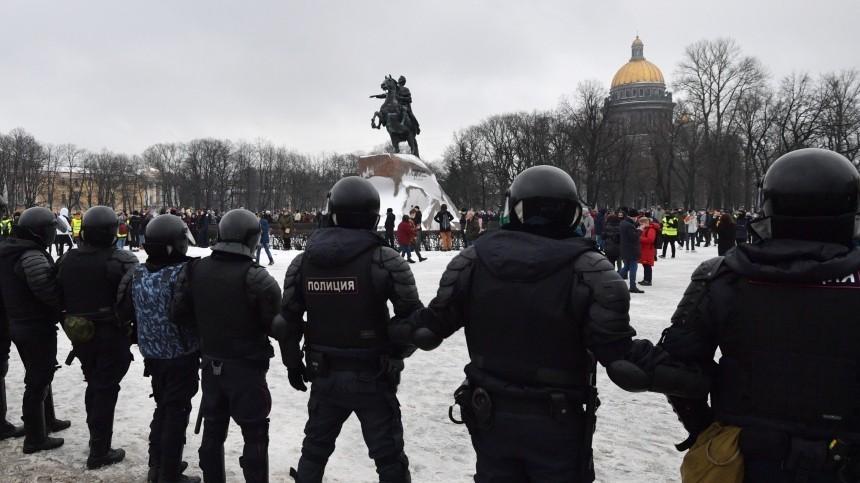 Суд Петербурга вынес первый штраф участнику несанкционированной акции