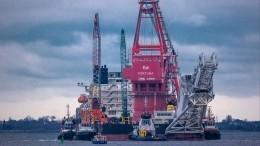 Трубоукладчик «Фортуна» возобновил строительство «Северного потока— 2»