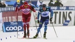 «Повезло, что небиатлон»: как финны оценили таран Болшуновым своего лыжника