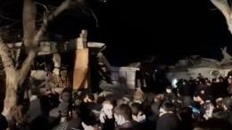 Взрыв прогремел вжилом доме впригороде Баку