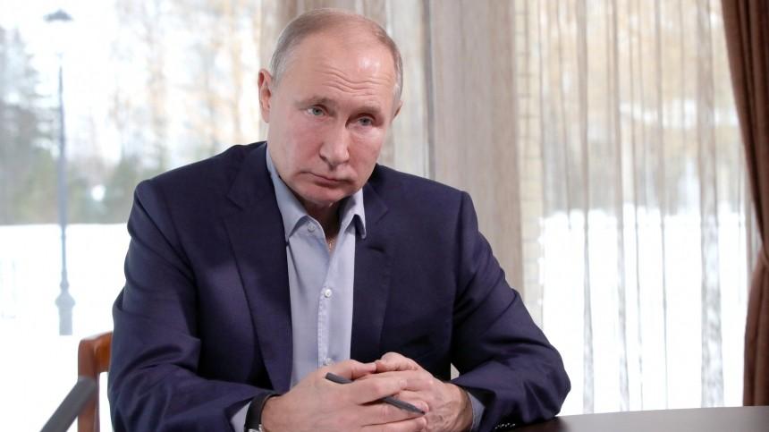 Путин призвал запретить отождествлять СССР сГерманией воВторой мировой