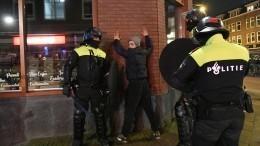 Новые протесты вНидерландах закончились погромами истычками сполицией