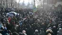 Подозреваемый внападении наполицейского воВладивостоке пришел сповинной