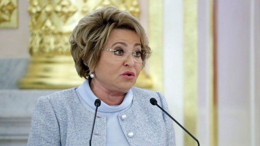 Матвиенко призвала ограничить «произвол» американских интернет-компаний