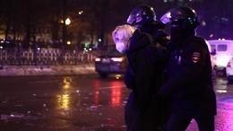Задержаны еще двое участников несанкционированной акции вМоскве