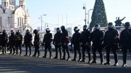 ВоВладивостоке задержан стрелявший изракетницы участник незаконной акции 23января