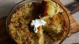 Готовим картофельную бабку— пошаговый рецепт сфото