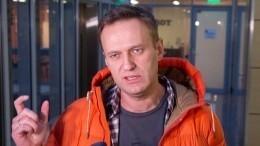 Вквартире Алексея Навального проходит обыск