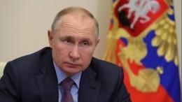 «Пандемия постепенно отступает»: Путин обратил внимание наснижение смертности