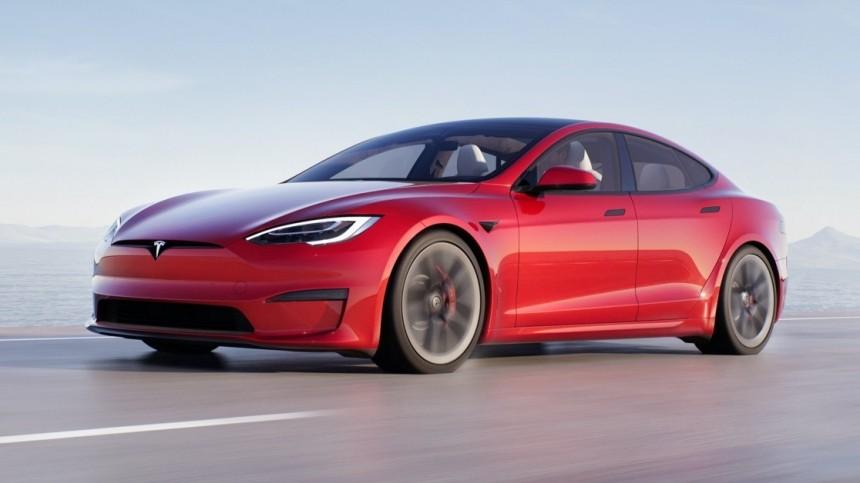 Tesla показала обновленный дизайн электромобиля Model S