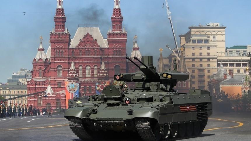 ВДании признали Россию военной сверхдержавой