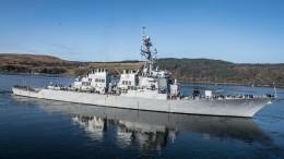 Фрегат «Адмирал Макаров» показал эсминцу США Porter, кто вЧерном море главный