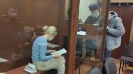 Суд отправил под арест участниц незаконных акций Соболь, Васильеву иАлехину