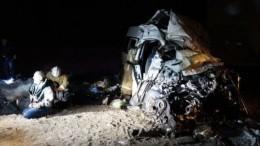 Число погибших вДТП смикроавтобусом под Самарой возросло до12 человек