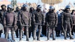 ВХабаровске нанезаконной акции задержали 13 человек
