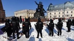 Около 60 человек пришли нанезаконную акцию воВладивостоке
