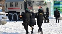 ВХабаровске иВладивостоке задержаны участники незаконных акций