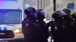 ВКремле оценили действия полиции вотношении участников незаконных акций