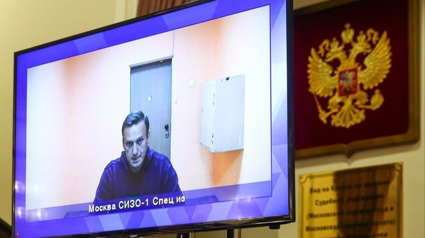 Мосгорсуд может заменить условный срок Навальному нареальный