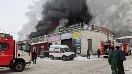 Гибель трех пожарных при тушении склада подтвердил глава Красноярска