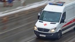 Автомобиль наскорости снес двух школьников наюго-западе Москвы— видео