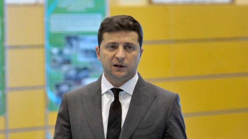 Украинская оппозиция приняла резолюцию оначале процедуры импичмента Зеленского