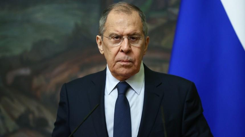 Лавров провел первый телефонный разговор сгоссекретарем США Блинкеном