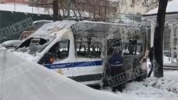Суд арестовал подозреваемого вподжоге машины Росгвардии вМоскве
