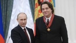 Путин наградил Эрнста орденом «Зазаслуги перед Отечеством»