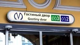 ВПетербурге возобновили работу станции «Гостиный двор» и«Невский проспект»
